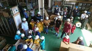 工場の見学会4