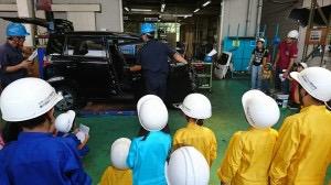 工場の見学会2